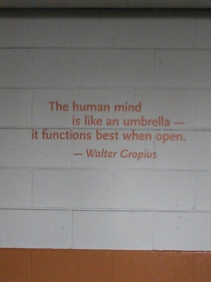 Walter Gropius quote