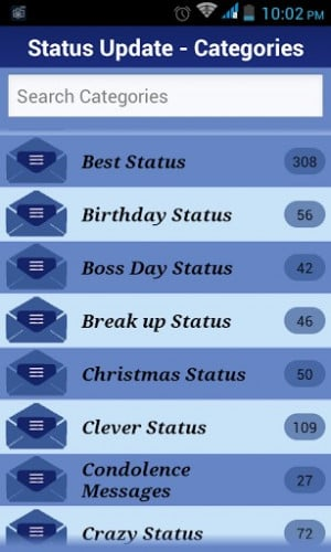 FB Statuses and Quotes Screenshot 1