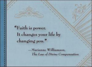 Faith in God = Power of Presence