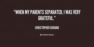 Separated Quotes