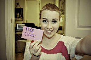 16. Lymphoma survivor. Hair finally growing back 3 months after chemo.