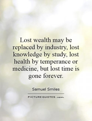 Time Quotes Wealth Quotes Samuel Smiles Quotes