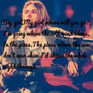 Kurt Cobain - Lyrics from
