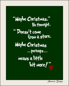 Grinch Quotes Printable grinch quote by