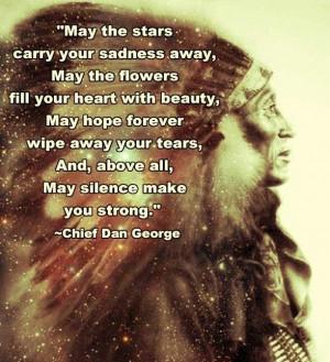 Chief Dan George quote