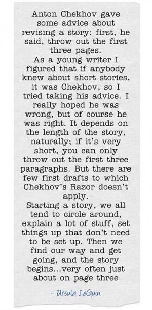 Chekhov's Razor