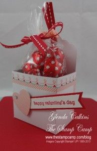 Sweet Sayings Valentine Treat Box with VIDEO
