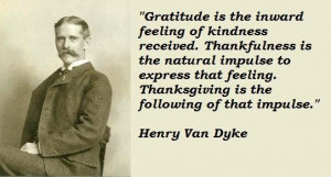Henry van dyke quotes 2