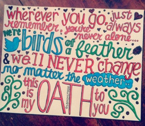 Oath Lyric Art by samonstage on Etsy, $5.00