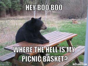 Yogi Bear Hey Boo Boo Quotes