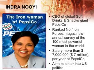 Indra Nooyi Quotes Indra nooyi