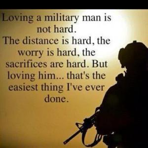 PROUD Army girlfriend.