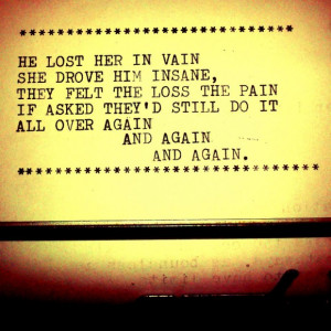 Quotes About Love Lost And Found Again : Saddest Quotes About Lost Love: And Again And Again In Brown Paper ...