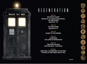 Doctor Who DVD / Book: Regeneration – More Details