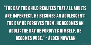 Alden Nowlan Quote