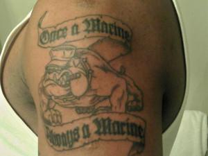 Once a Marine Always a Marine | Marine Corps Tattoos | Sgt. Grit