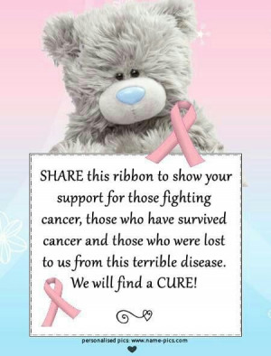 HATE Cancer wish it would die!!!