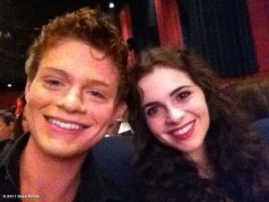 ... . @GoingBerdy was lucky enough to meet Sean Berdy and Vanessa Marano