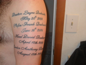 Memorial Tattoo Quotes