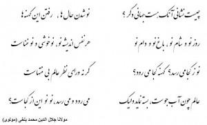 Rumi Poems In Farsi Translation from persian farsi