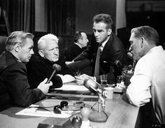 Richard Widmark, Spencer Tracy, Montgomery Clift and Burt Lancaster ...