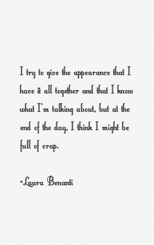 Laura Benanti Quotes & Sayings