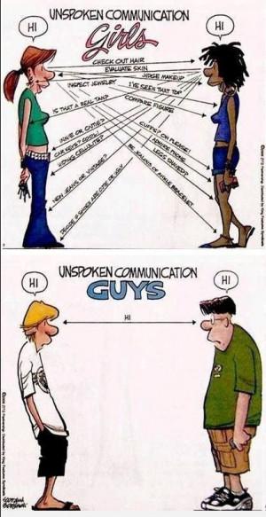 women men gender differences funny so true