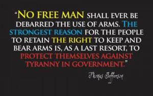 Thomas Jefferson Quotes 2nd Amendment