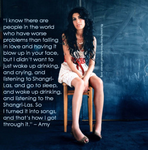Amy Winehouse QuoteLife Quotes, Amywinehouse, Amy Winehouse Quotes