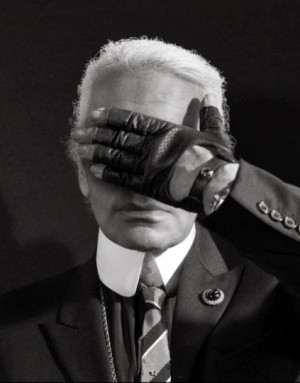 new book inspired by fashion designer Karl Lagerfeld's famous quotes ...