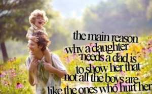 Father's Day Special Quotes from Daughter to Father