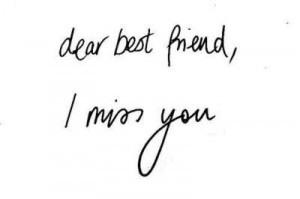 best friend, black and white, i miss you, text