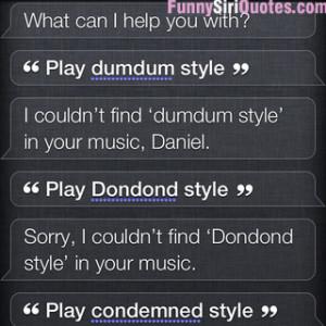 Siri: Gangnam style