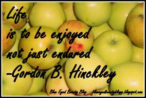 Gordon B Hinckley Quotes Quote