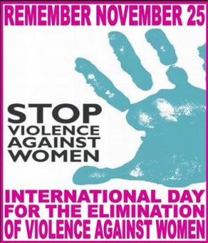 International Day for the Elimination of Violence against Women 25 ...