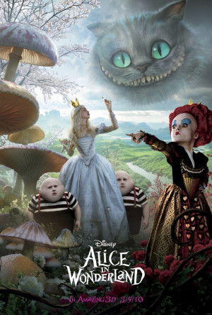 New Alice In Wonderland Movie Posters