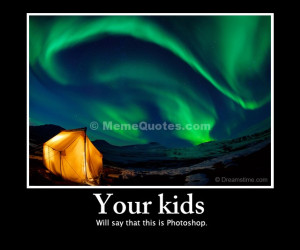 ... kids will say that this is Photoshop. Download Northern Lights photo