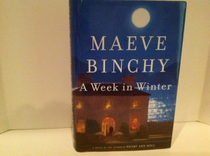 Book to read: A Week in Winter By: Maeve Binchy