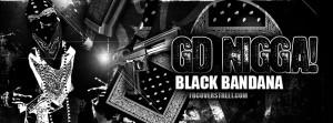 Gangster Disciple Black Bandana Facebook Cover