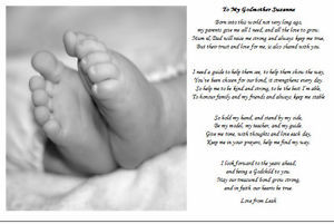 poems for godson from godmother