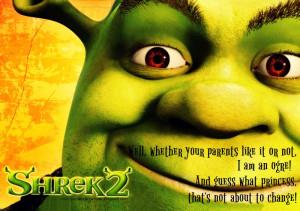 Shrek]: Donkey, think of the saddest thing that's ever happened to ...