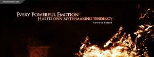 Bertrand Russell Powerful Emotions Quote My Church Is The Science ...