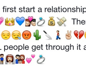 Emoji Instagram Quotes About Relationships