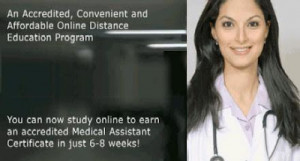 ... that there is a sudden need for medical assistant professionals