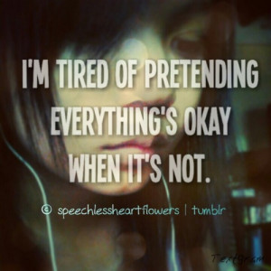 ... for this image include: tired of everything, not, okay, quotes and sad