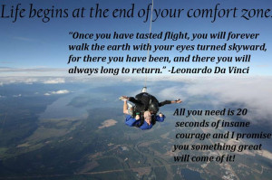 ... my favorite quotes about skydiving. GO SKYDIVING! Skydive, just do it