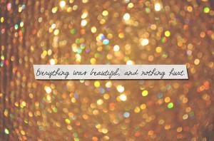 beautiful, glitter, postcard, quote, shine, sparkle