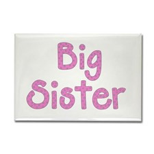 Big Brother/ Sister Rectangle Magnet for