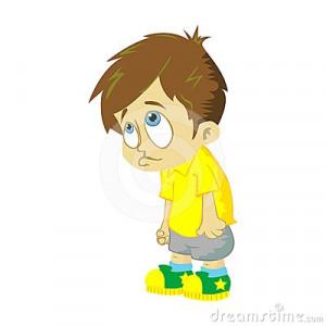 sad girl stick figure cartoon cli of a black and sad boy child clip ...