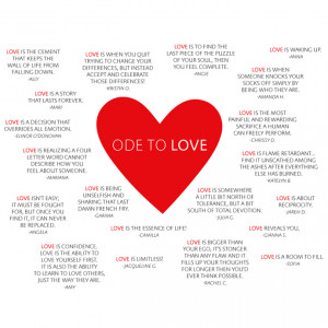 "WINNING QUOTES FROM VIGOSS ""ODE TO LOVE"" CONTEST"